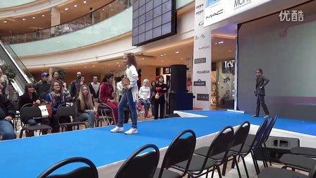 莫斯科商場afimall-city  兒童時裝秀