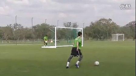 U14训练:传中与前后点包抄时机(里斯本竞技)
