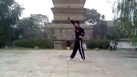 【侯韧杰 TKD 自演篇】之 太极一章练练老腿