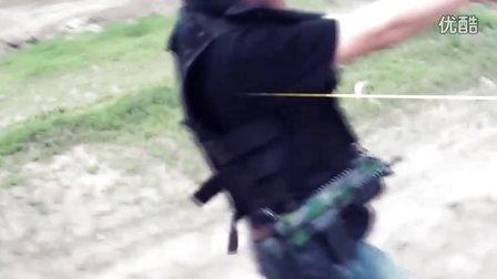 国内中学生 真人枪战 短片【使命跌落】 片花 【Exophaze】