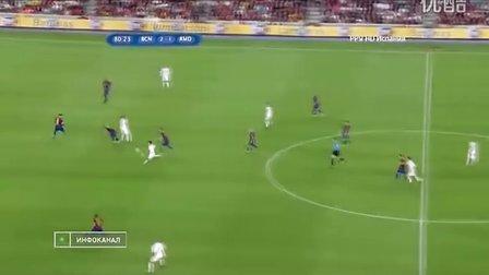 2011818西班牙超级杯次回合皇马VS巴萨下半场