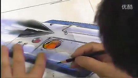 一起跟着工业设计大师清水吉治学工业设计手绘2