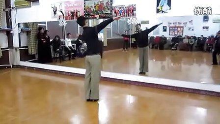 赵敏老师摩登舞基本功练习