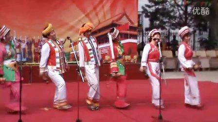 薛淑琴姐妹-葫芦丝组合演出--克拉玛依区离退休总站举办热爱伟大祖国-建设美好家园-民族团结一家亲文艺