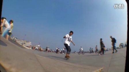 freeline skates 视频PK赛 【小羽】 大连漂移板友会