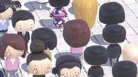 2012年昂西动画节动画短片Jean-Luc短片奖:川流不息的人【一起动画吧 分享】