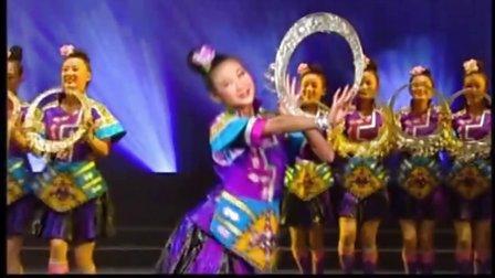 中国民族舞蹈《银项圈》苗族群舞