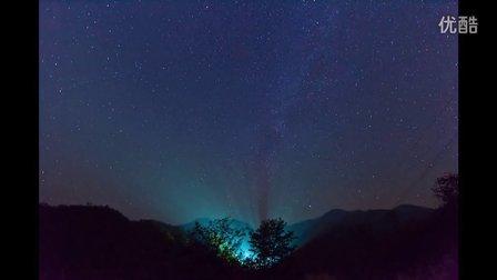 延时摄影 - 繁星之光