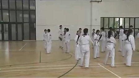 跆拳道课人教版小学三年级体育优质课