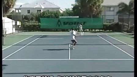 尼克·波利泰尼网球教程,03,截杀网前(上)