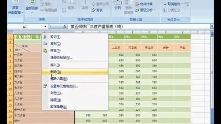 Excel2007 视频教程12(21互联出品)