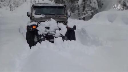 JEEP 牧马人 罗宾汉 深雪挑战!