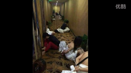 深圳扫黄现场抓到六名港警 特警抓捕卖淫小姐