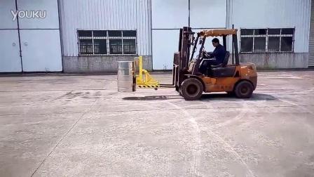 FTA-IC内卷边桶专用叉车桶夹