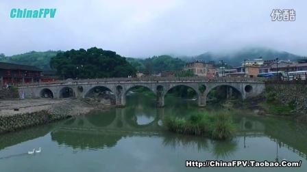 FPVMODEL福建省南靖县云水谣自由行旅游航空拍摄风景