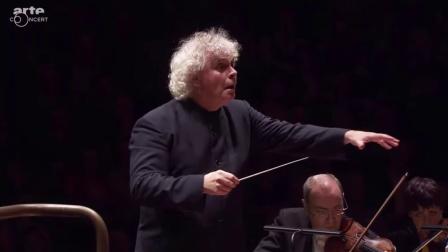 西蒙拉特爵士指挥伦敦交响乐团演奏20世纪音乐
