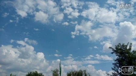 初秋的蓝天白云 配乐自唱《橄榄树》