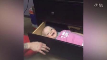 【冯导】搞怪老爸与宝宝玩捉迷藏