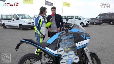 2016年暴风电动超级摩托车 80天环游世界