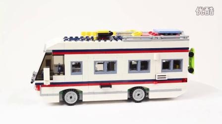 Lego Creator 乐高 创意三合一系列31052 假日露营车