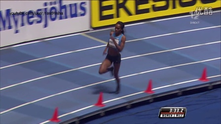 Genzebe Dibaba 4׃13.31 - Smashes Indoor Mile WORLD RECORD 2016