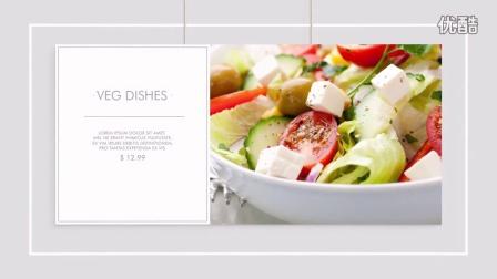 AE模板-现代美食节目包装披萨店餐厅水果食品菜单介绍模板16297909