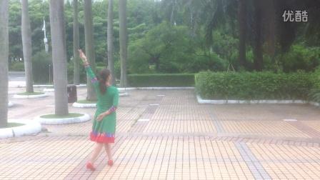 丽萍广场舞:梦见你的那一夜:编舞:応子老师:背面演示