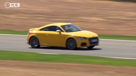 0-100公里加速4.6秒 西班牙赛道试驾2015款奥迪TTS(中文/超清)