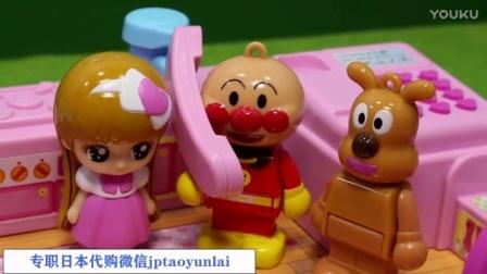 【日本代购】小猪佩奇 面包超人 到粉红女郎家做客