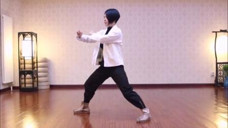 杨氏太极拳85式讲解(二)02揽雀尾-罗子真