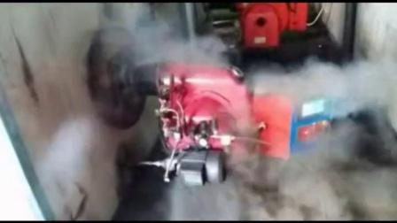 调试燃烧机视频与相关图片(爆燃)