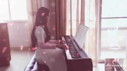 《凉凉 钢琴版》电钢琴 轻音_tan8.com