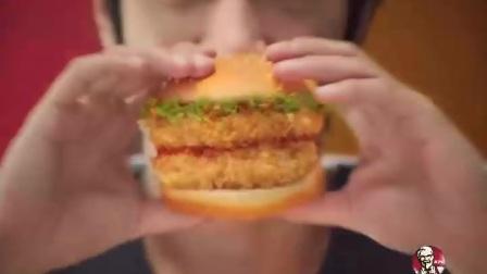 肯德基川香双层鸡腿堡2011年广告《好吃篇》30秒