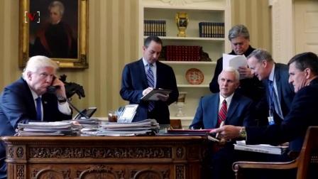 总统特朗普的桌子上有一个按钮,你绝对想不到的用途