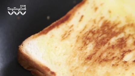 『顶尖美食节目』荷包蛋牛油果酱面包薄饼
