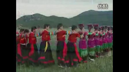 云南省宁蒗彝族自治县民族团结舞之彝族舞2