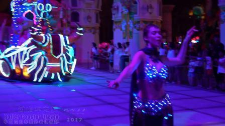 【超清晰】罗蒙环球乐园 欢乐与奇妙巡游展 夜场巡游录像