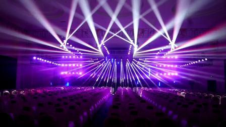 创想秀泰•光耀中国主会场开场灯光秀,王鹏作品 大歌灯光友情赞助