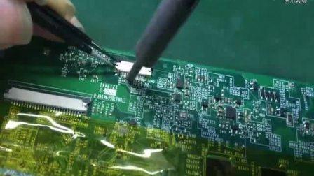 芯片级维修必备:如何用风枪、烙铁等工具更换主板上的接口