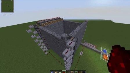 红石电路-房屋自动建造机