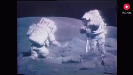NASA阿波罗登月最后一人逝世,这个视频记录他登月全过程
