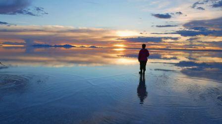 天空之镜——玻利维亚乌尤尼盐湖