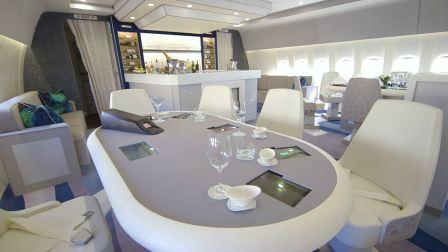 水晶游轮豪华777专机