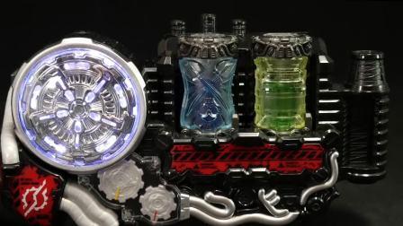 【Youtube转载】假面骑士build DX海賊列车瓶罐