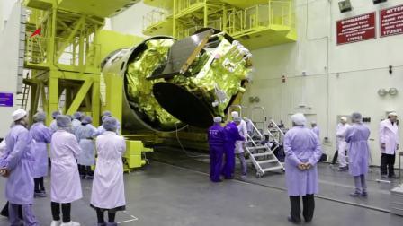 安哥拉卫星-1扣罩作业