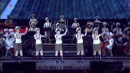 【高清】牡丹峰乐团、功勋合唱团2018新年联合演出