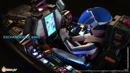 Kids Logic 1/6 太空堡垒超时空要塞- VF-1J 麦克斯 机舱音箱
