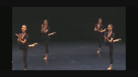 11荷北舞古典舞基训课程展示(女班)