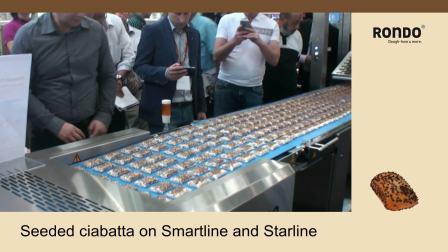 RONDO瑞士龙都: Ciabatta巧巴达面包自动成形生产线