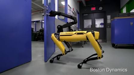 Boston Dynamics 的机器狗懂得开门逃跑了(惊!)